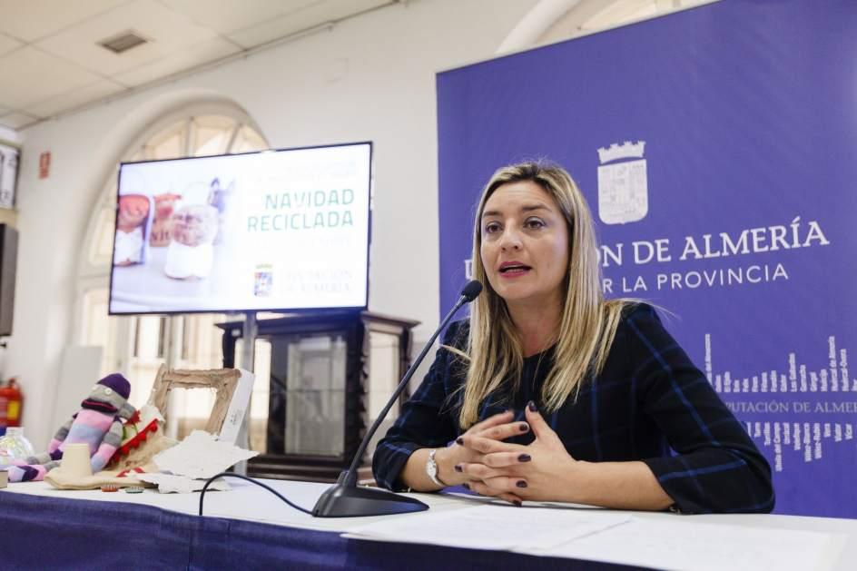 Diputación acerca los talleres 'Navidad Ambiental' a más de 3500 alumnos de 45 municipios de Almería
